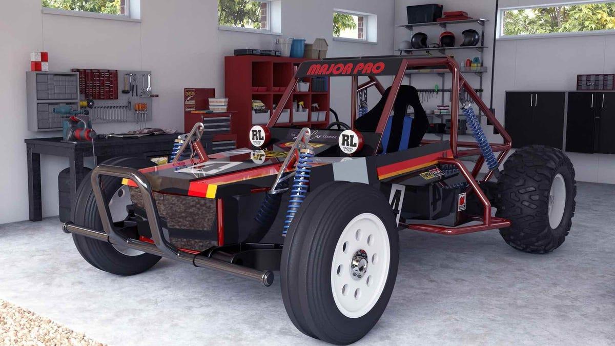 Convierten uno de los juguetes a radiocontrol más populares de los 80 en un vehículo eléctrico que puedes comprar y conducir