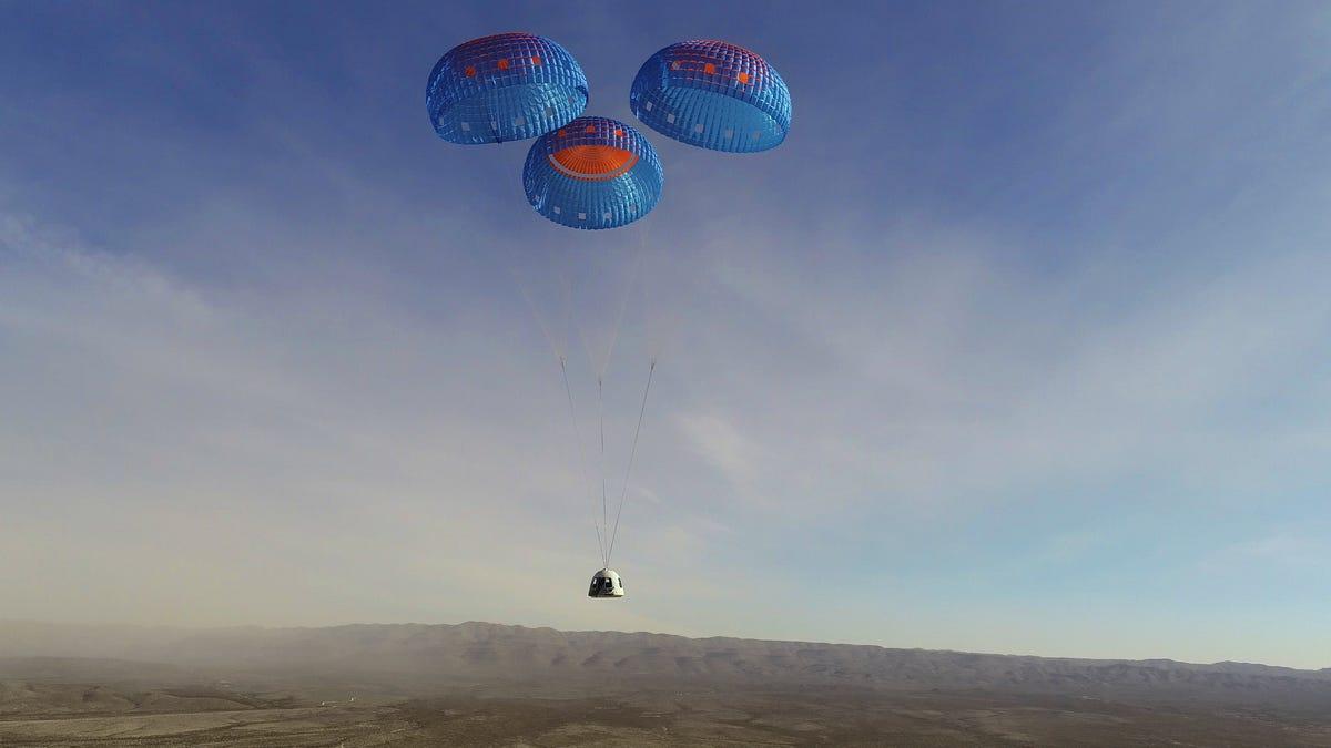 Blue Origin realizará su primer vuelo tripulado el 20 de julio, y un asiento será subastado al mejor postor