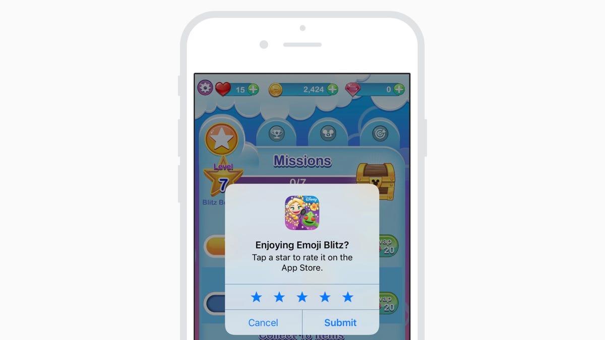 Cómo impedir que las aplicaciones de iPhone te pidan una valoración en la App Store