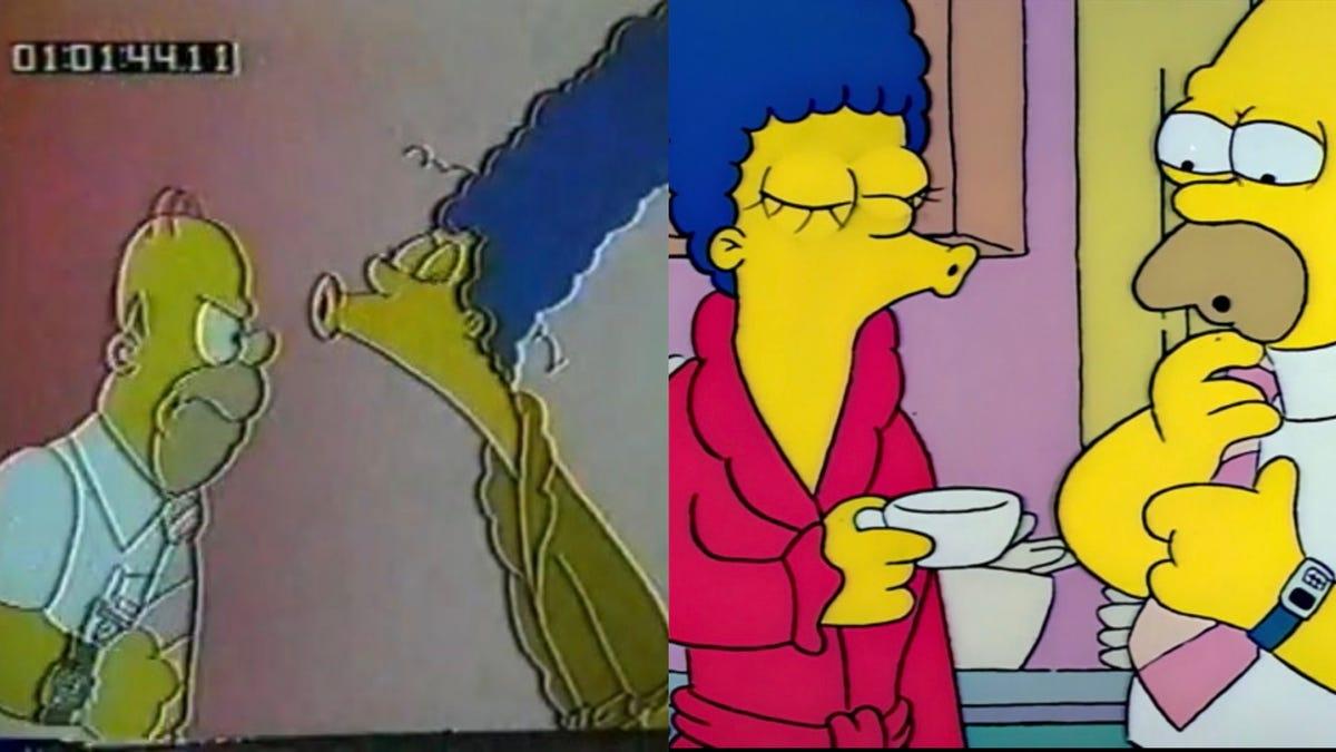 El episodio piloto de Los Simpson que tuvieron que rehacer casi al completo porque era «una mierda»