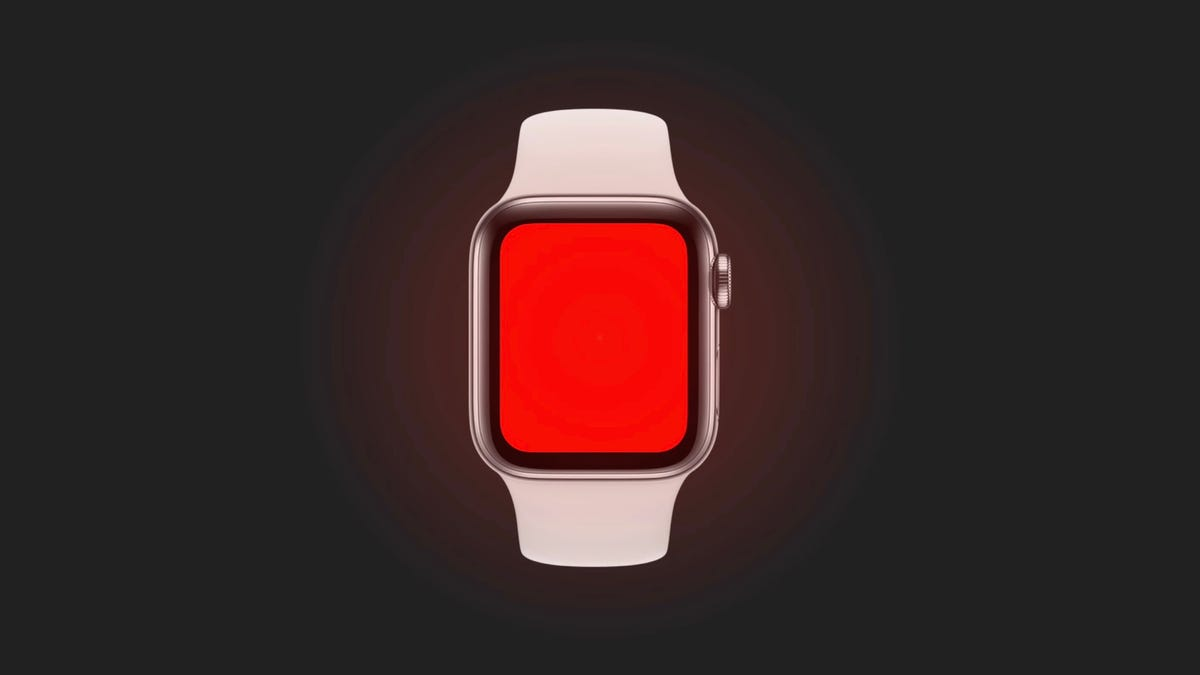 Para qué sirve la linterna de luz roja que viene con el Apple Watch