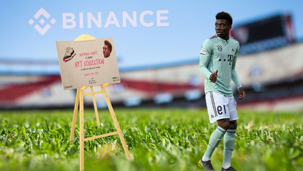 Los NFT de fútbol llegarán a Binance con esta estrella del Bayern de Múnich