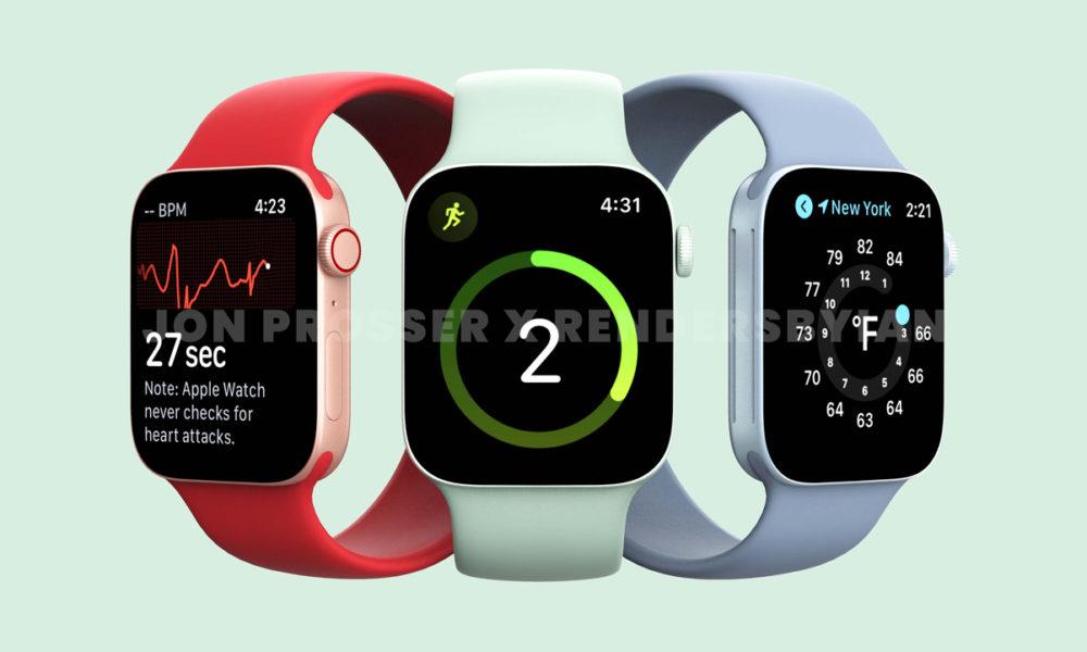 Apple Watch Series 7 filtrado: nuevo diseño y colores