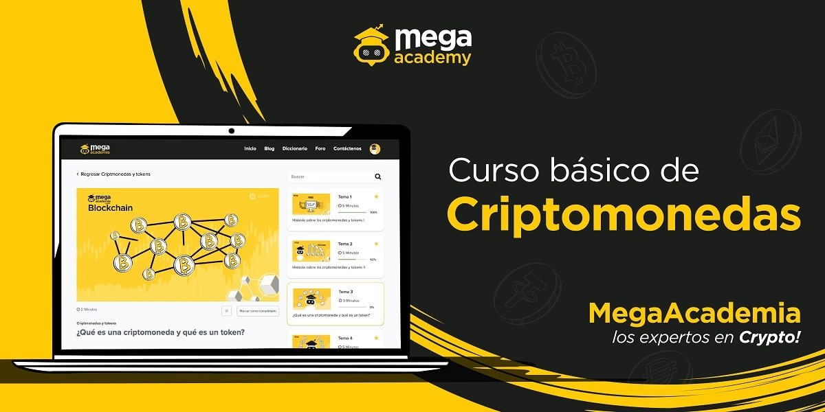Aprende de bitcoin y otras criptomonedas con expertos en MegaAcademia.
