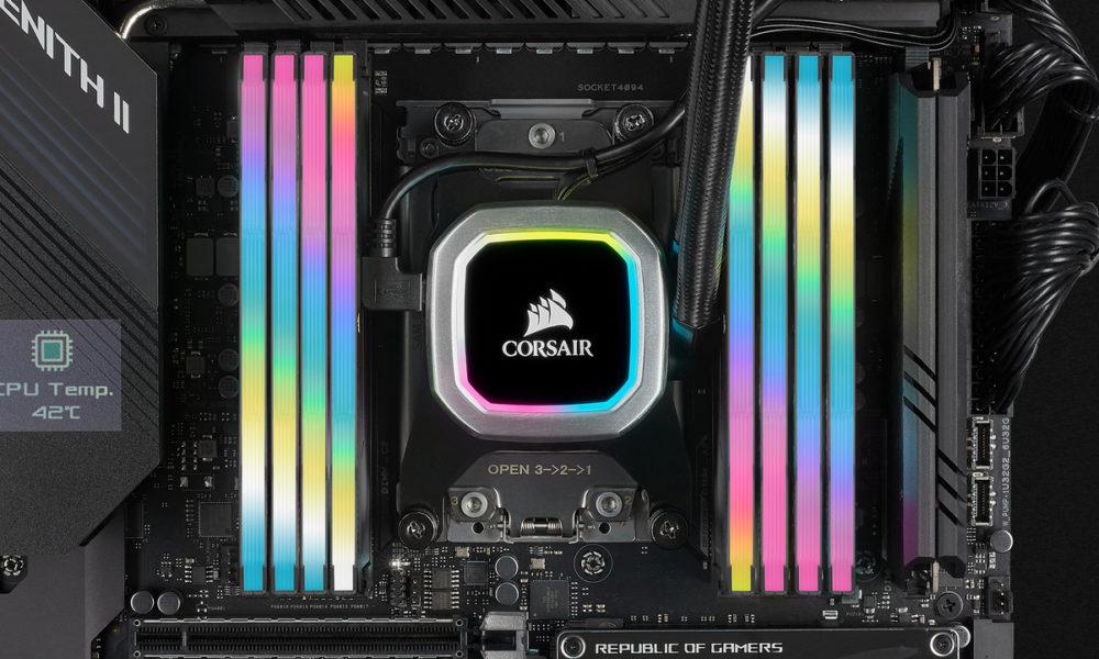 Corsair adelanta la llegada de su memoria RAM DDR5-6400