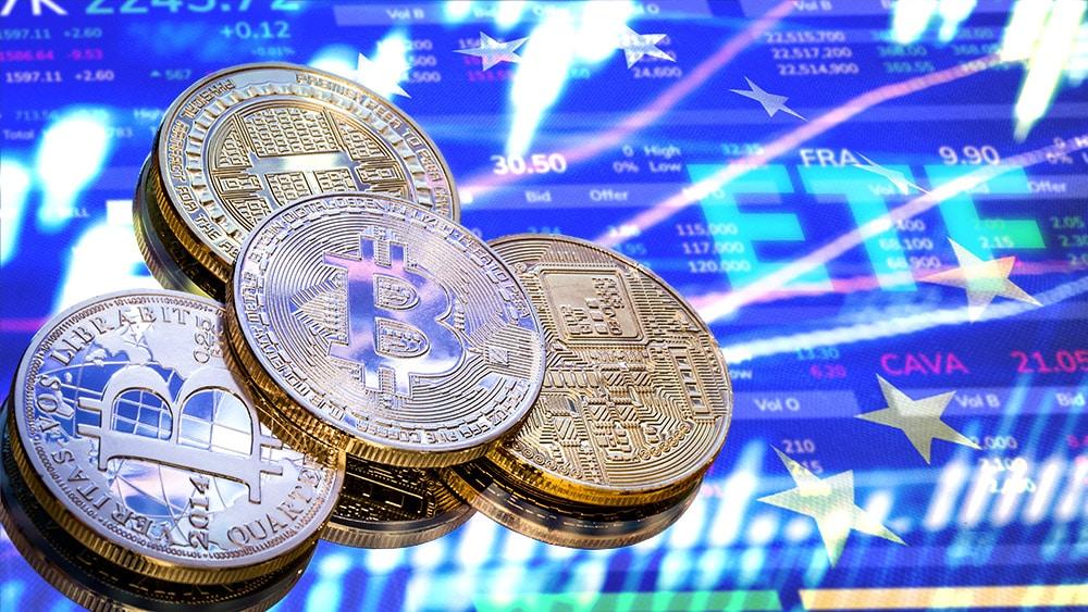 ETF de compañías de bitcoin y criptomonedas llega a bolsa de Europa