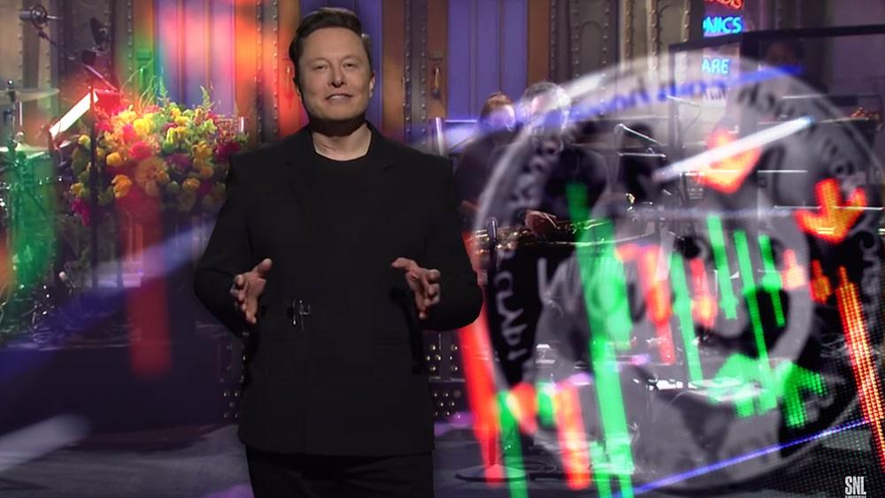 Elon Musk afirma que Dogecoin es «un timo» en SNL y su precio cae un 35%