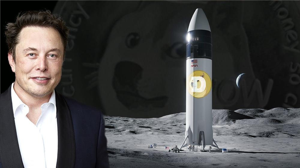 Tras llamarla «timo», Elon Musk y SpaceX llevarán a Dogecoin a la luna