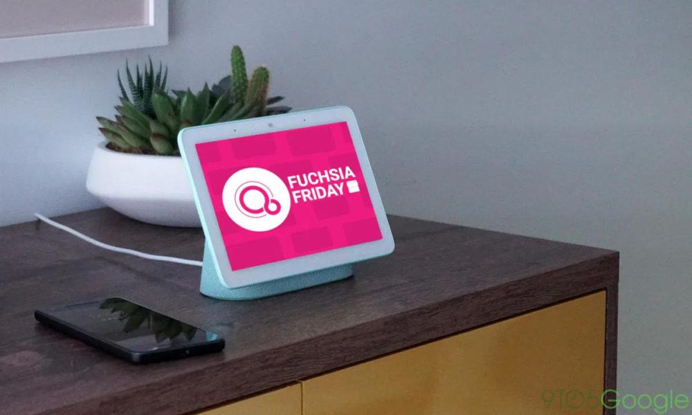 Fuchsia OS aparece en un Nest Hub en el sitio de Bluetooth