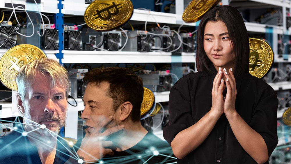 Bitcoiners se posicionan ante el Consejo Minero de Bitcoin formado por Musk y Saylor