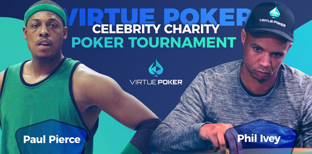El torneo Celebrity Crypto Poker en la plataforma Virtue Poker se transmitirá en vivo en Twitch