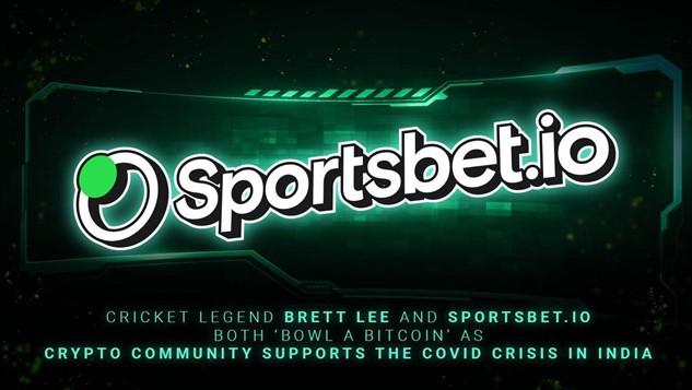 La leyenda del cricket australiano Brett Lee se une a Sportsbet.io para donar Bitcoin para ayudar a la crisis de Covid en India