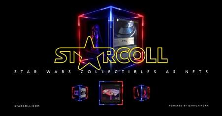Starcoll emitirá coleccionables de Star Wars de edición limitada como NFT