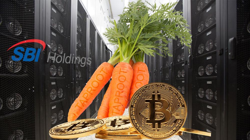 Pool de minería del banco más importante de Japón apoya Taproot en Bitcoin