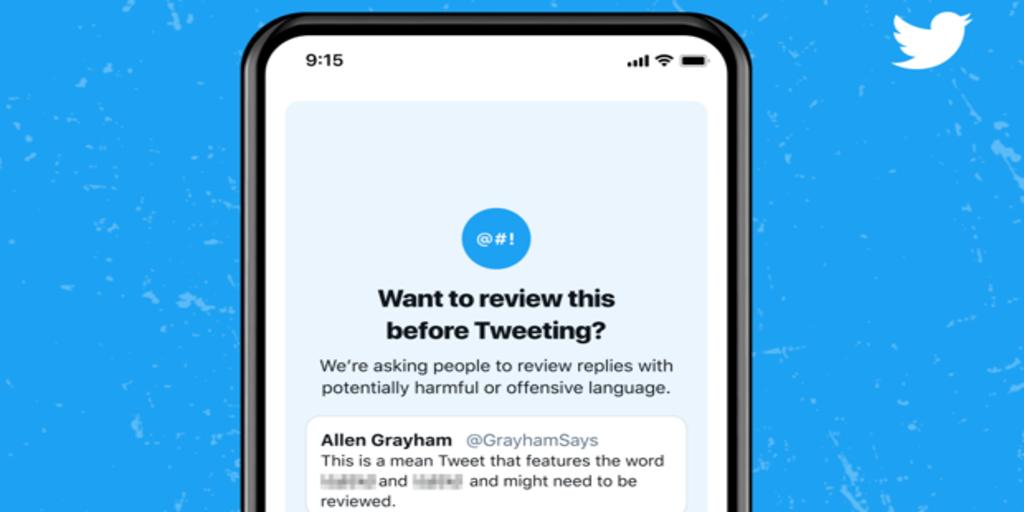 Twitter comienza a mostrar alertas a los usuarios que emplean un lenguaje ofensivo en sus respuestas