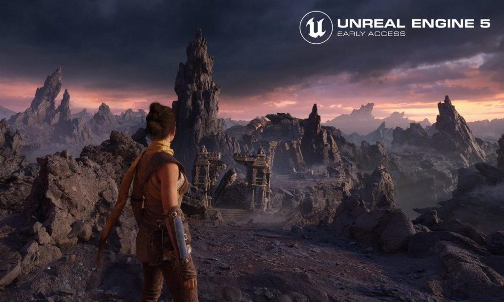 Unreal Engine 5 utiliza Temporal Super Resolution