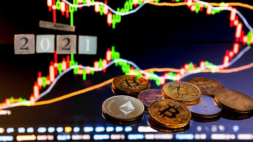 Volumen de trading de criptomonedas superó los USD 1,5 billones en abril