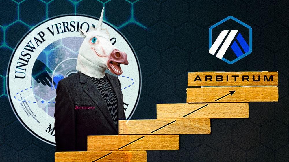 La comunidad de Uniswap vota por Arbitrum como solución de escalado