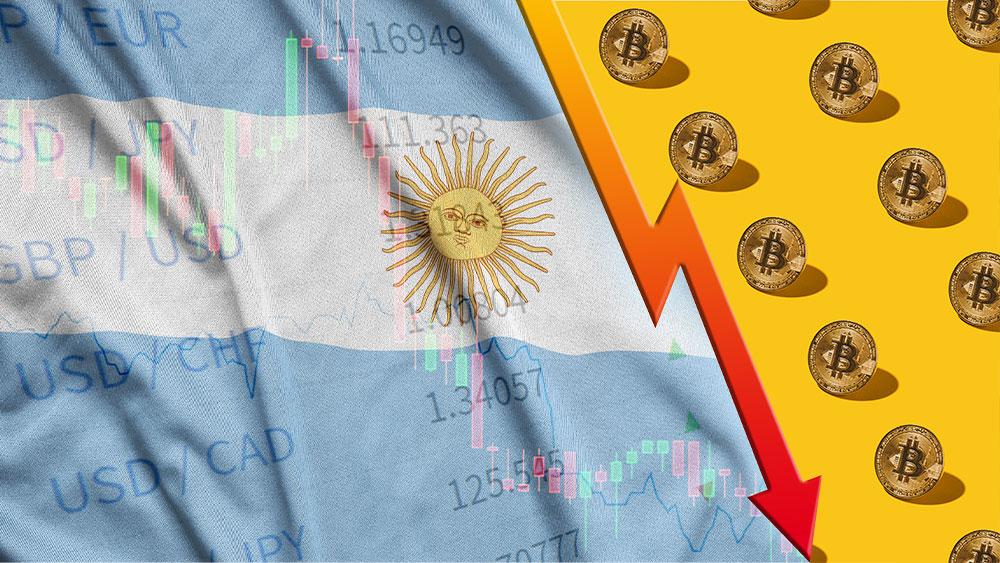 Caída de bitcoin supera al PBI de Argentina