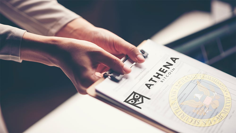 Athena Bitcoin presenta solicitud ante la SEC para cotizar en bolsa