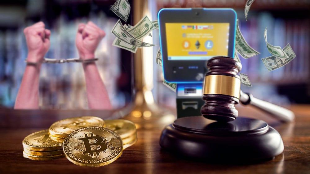 Hombre recibe sentencia por utilizar cajeros automáticos de bitcoin para lavar dinero