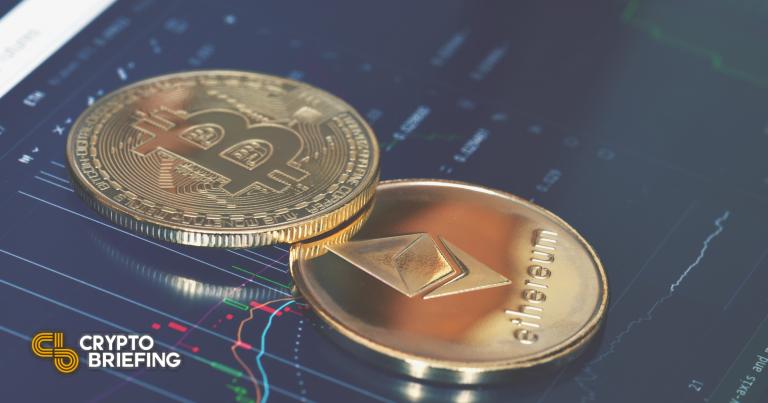 La capitalización de mercado de Ethereum ahora es la mitad del tamaño de Bitcoin
