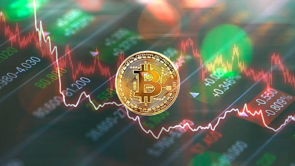 Valor de las acciones del mercado bursátil cayó junto al precio de bitcoin