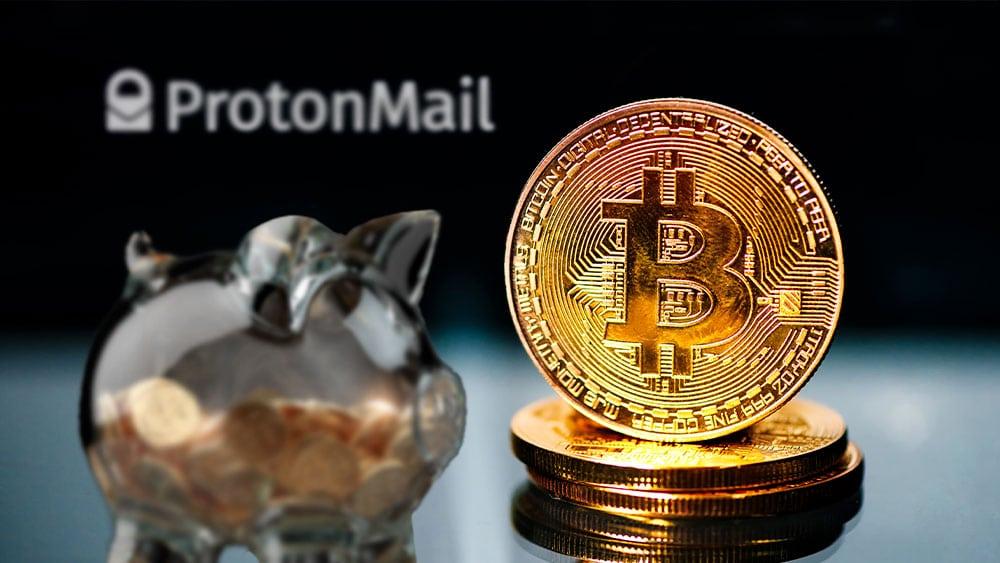 proveedor de correo electrónico revela que tiene reservas en bitcoin