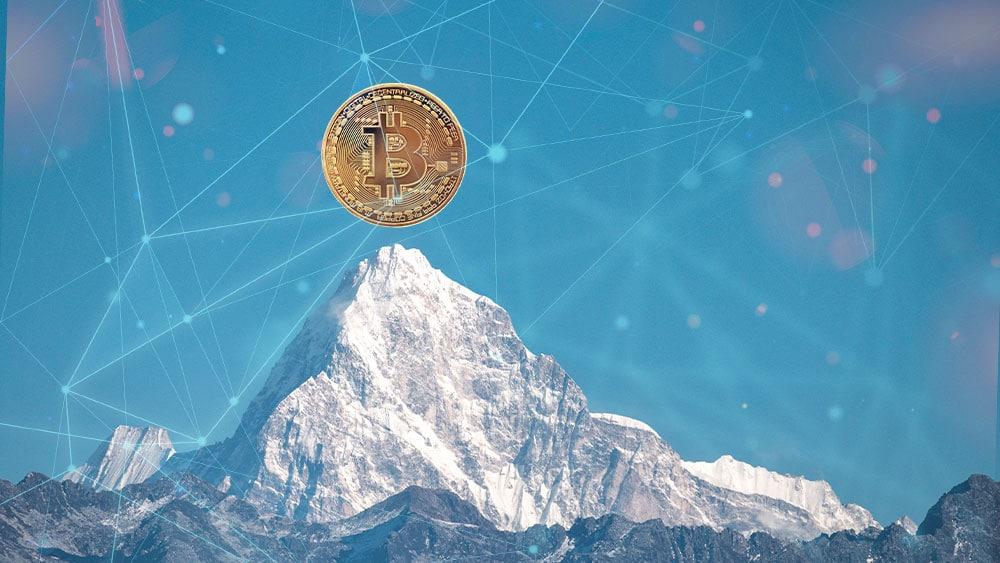 En medio de la caída del mercado, la dominancia de bitcoin sube al 45%