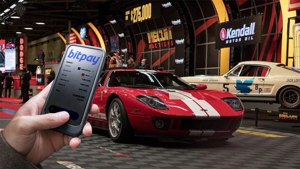 Empresa de subastas de autos de colección ahora acepta bitcoin, ethers y stablecoins