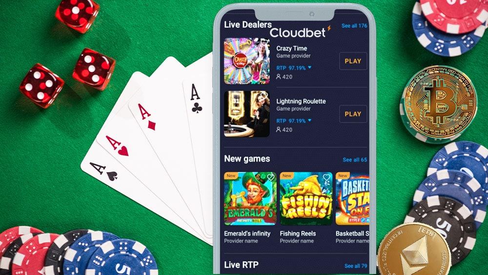 juegos de apuestas con bitcoin en Cloudbet