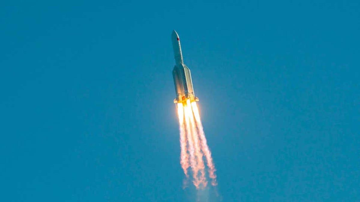 La NASA regaña a China por el cohete en el Océano Índico