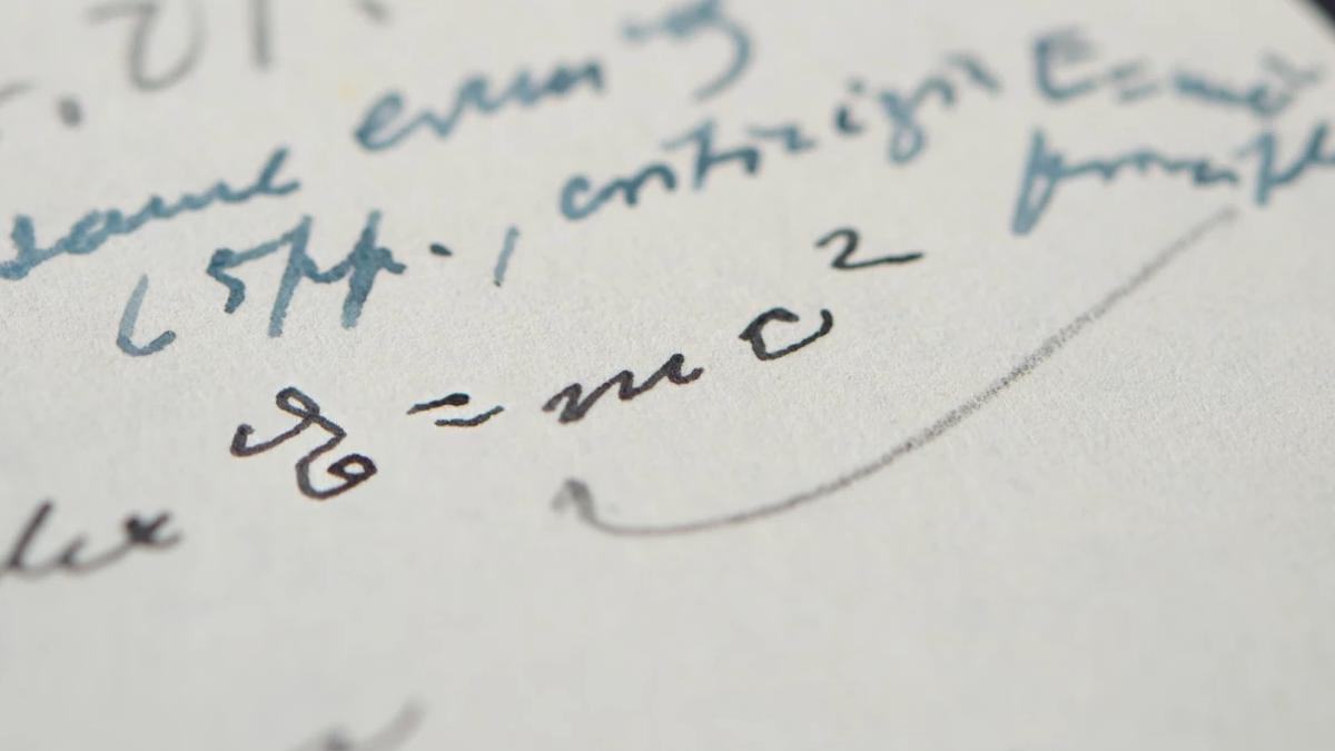 Una carta de Einstein se subasta por más de un millón