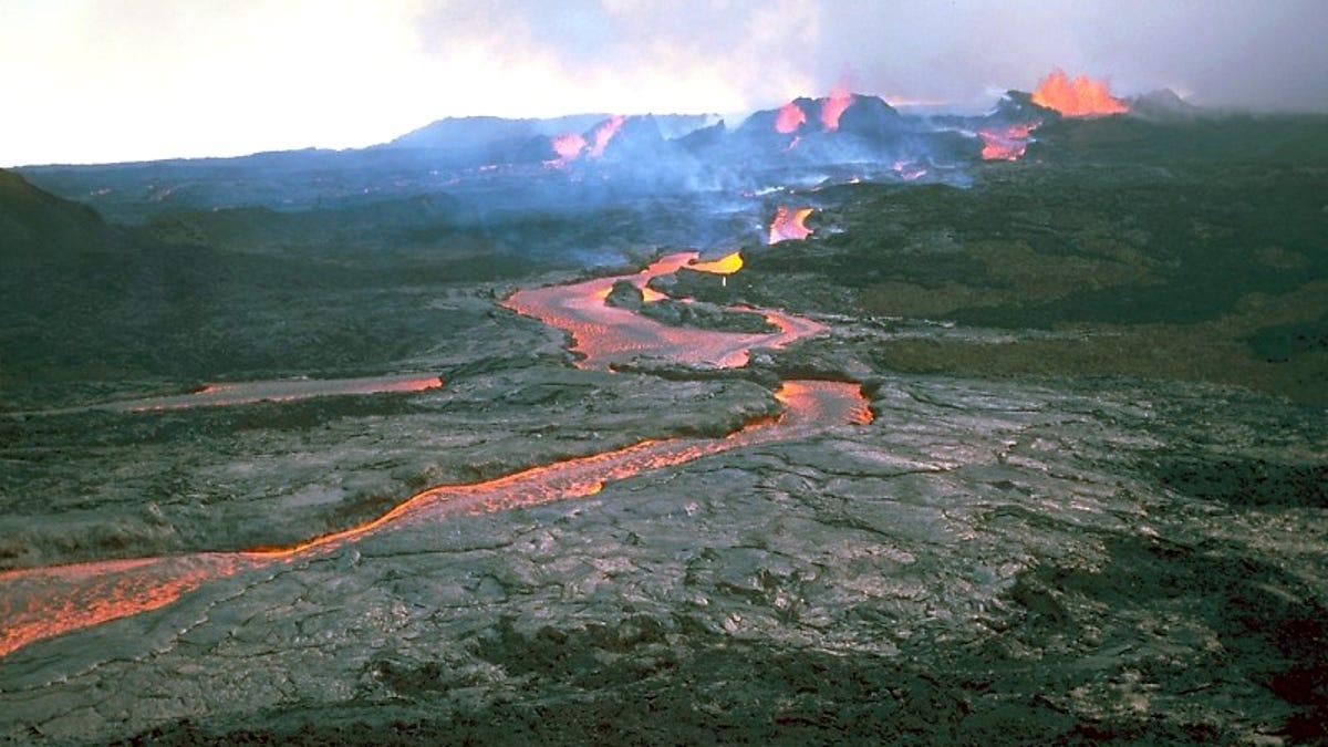 El volcán más grande del mundo a punto de entrar en erupción