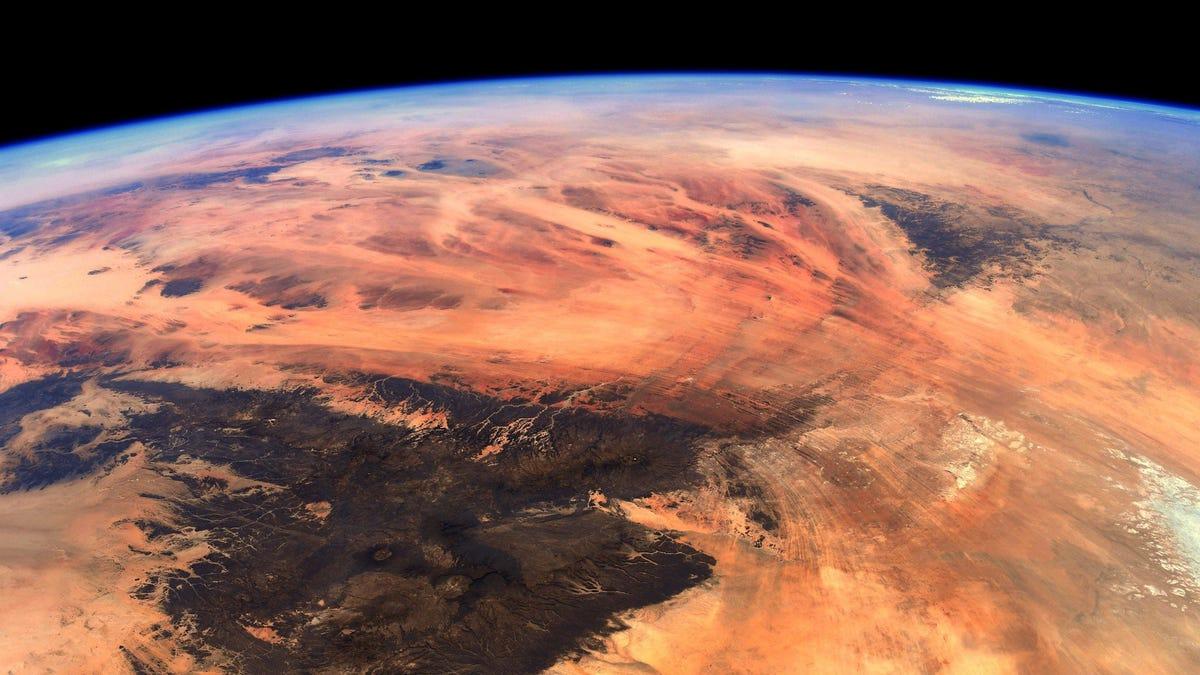 Aunque parecerlo, esta foto no es de Marte, sino de la Tierra