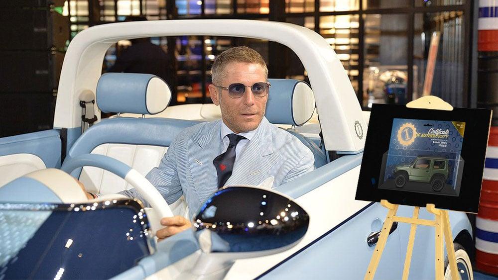Taller del heredero de Fiat usa NFT para certificar diseños de autos exclusivos