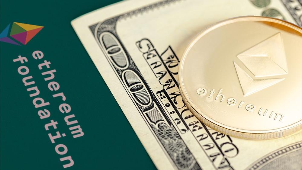 Fundación Ethereum liquidó 120 millones de dólares en ETH antes de la caída de precios
