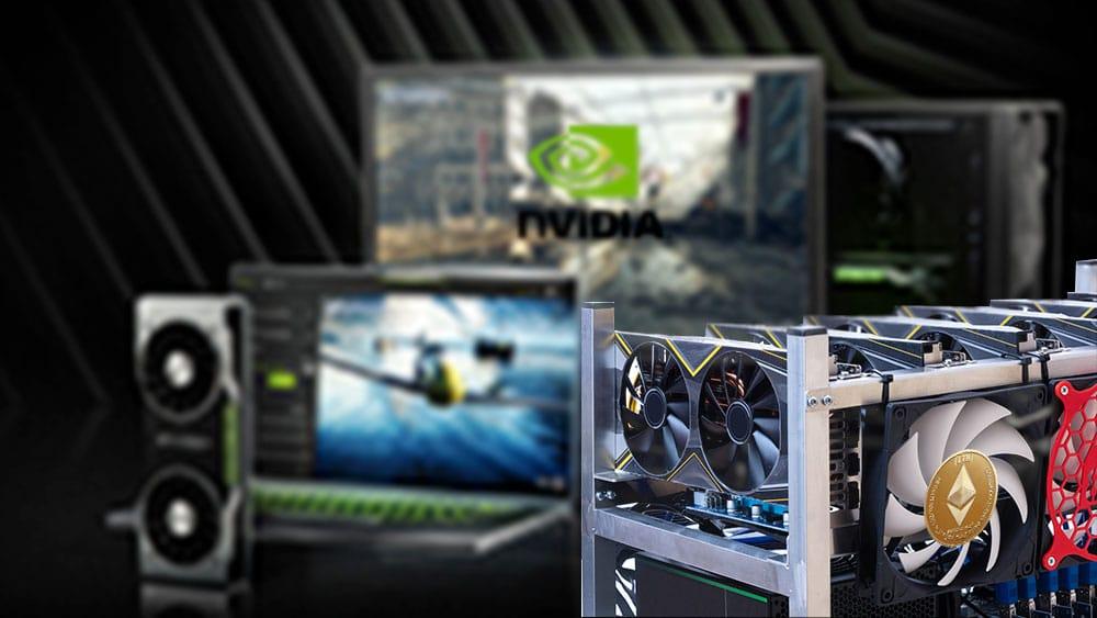 Nvidia restringirá capacidad para minería de criptomonedas en sus nuevas GPU