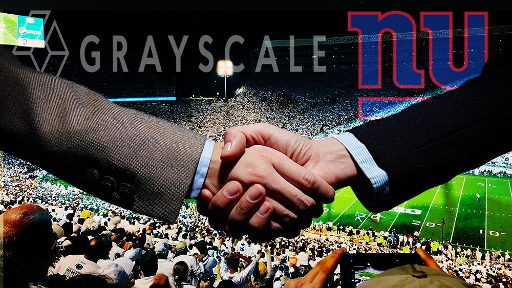 Bitcoin gana terreno en la NFL tras acuerdo entre Grayscale y New York Giants