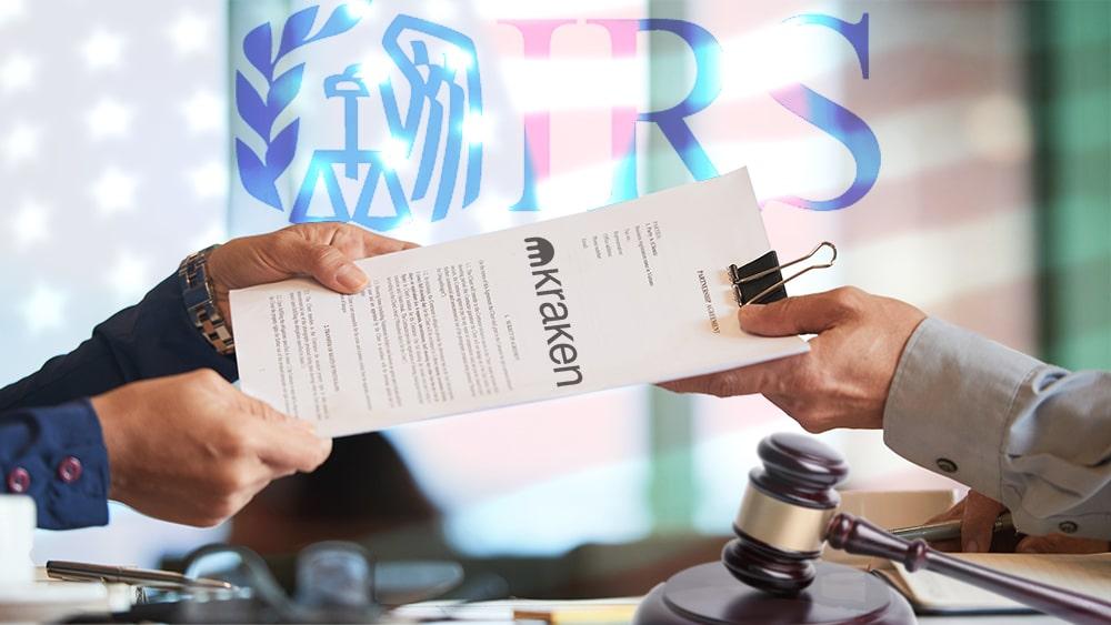 Kraken deberá compartir datos de sus clientes con el servicio de impuestos de EE. UU.