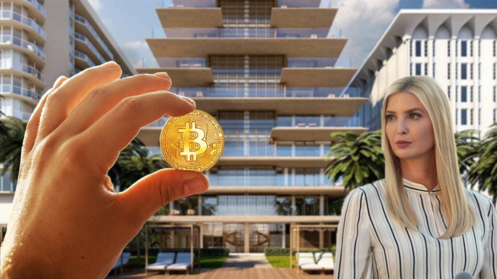 Exclusivo condominio donde vive Ivanka Trump en Miami acepta bitcoin y ethereum