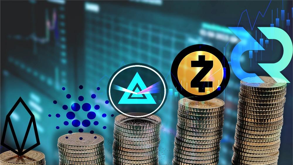 Decred y Zcash lideran el top semanal mientras el mercado se halla en plena recuperación