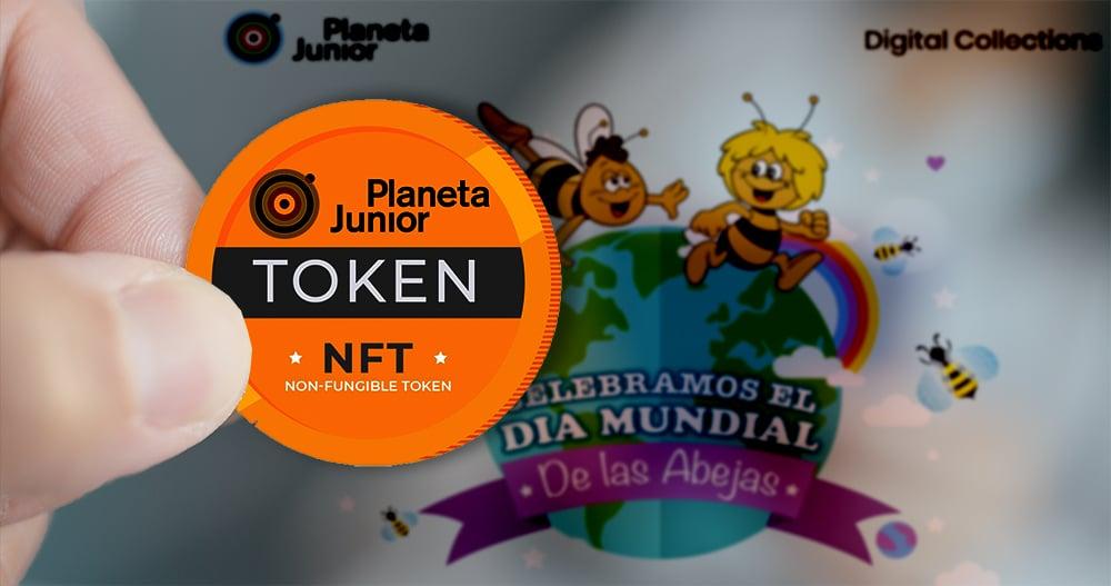 La abeja Maya y Marco tendrán su NFT en el marketplace de Planeta Junior