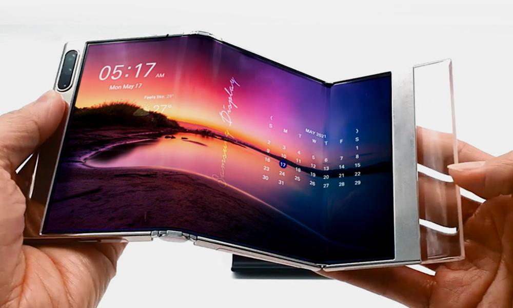 Samsung Display presenta soluciones de pantallas flexibles