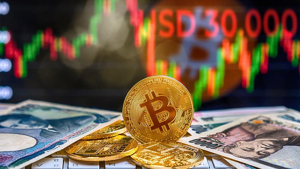 Precio de bitcoin cayó a 30.000 dólares por primera vez desde enero