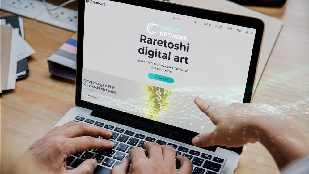 arte digital será subastado en Liquid Network