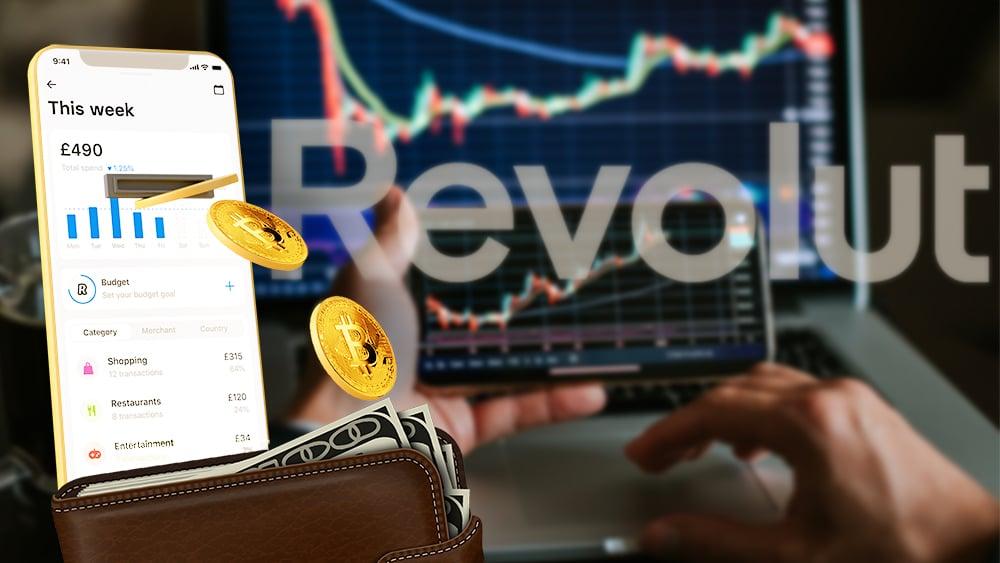 Revolut permitirá retiros de bitcoin y otras criptomonedas desde su app