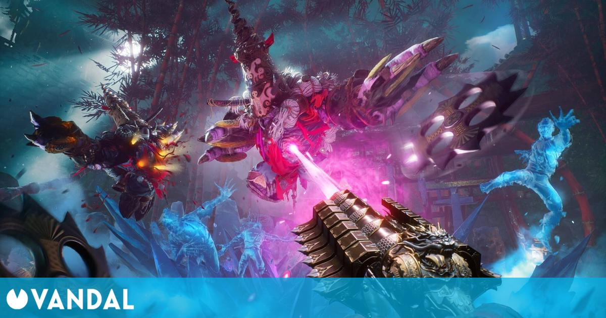 Shadow Warrior 3 presenta su nuevo gameplay en el nivel Motokos Thunderdome
