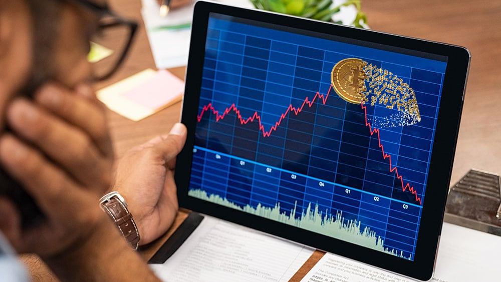 bitcoin lucha por retomar los 40.000 dólares tras fuerte caída del precio