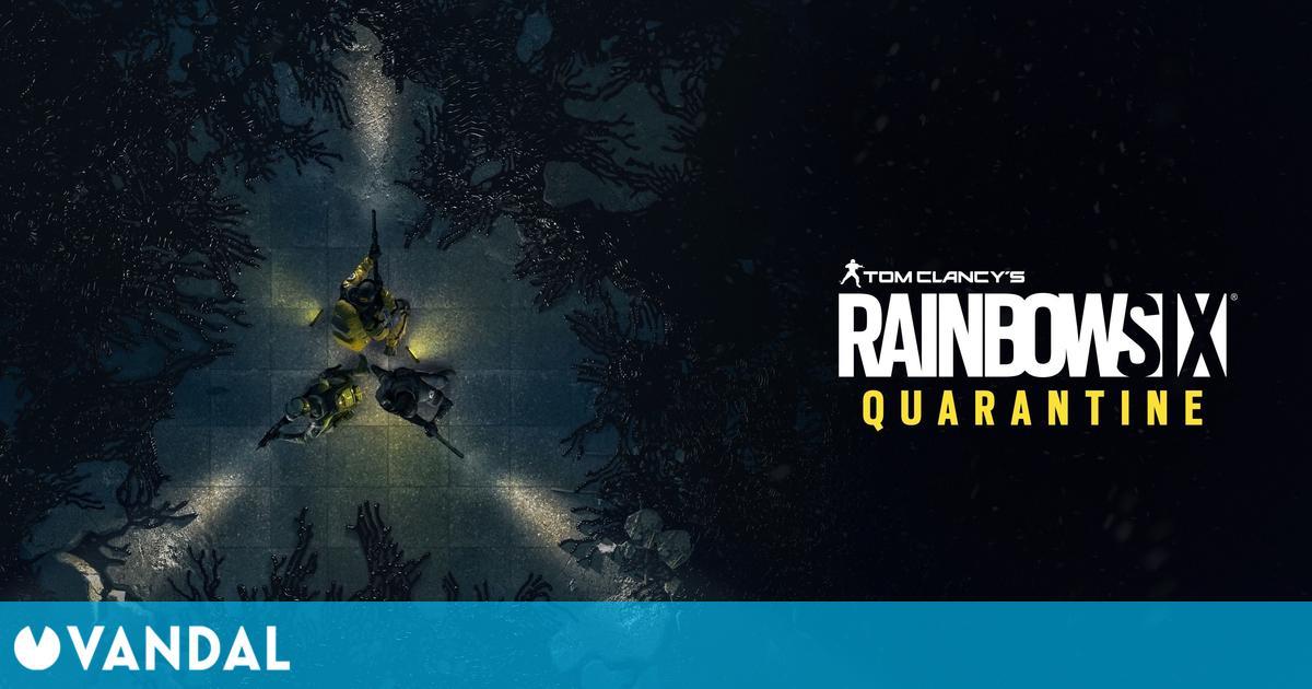 Ubisoft confirma que Rainbow Six Quarantine saldrá antes del 30 de septiembre de 2021